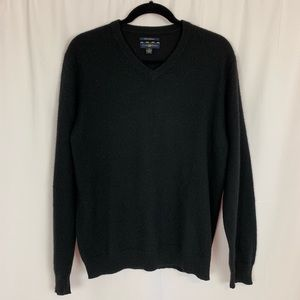 Club Room Black 100% Cashmere Sweater Sz M